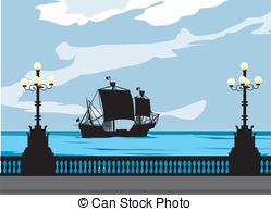 Promenade Clipart Vector and Illustration. 344 Promenade clip art.