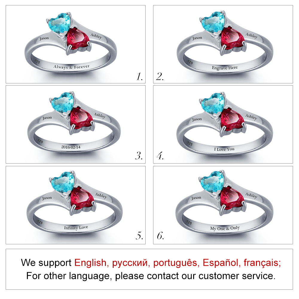 Aliexpress.com : Buy Personalized Infinite Love Promise Ring.