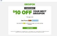 √ Groupon Code Promo.