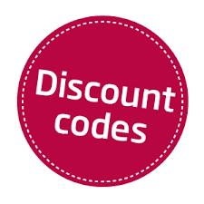 Discount code.