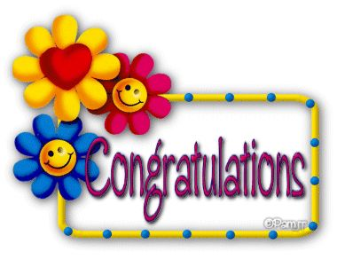 Animated Congratulations Clipart.