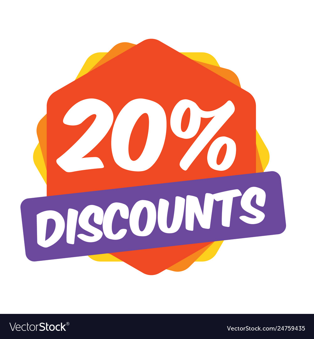 20 off discount promotion sale sale promo market.