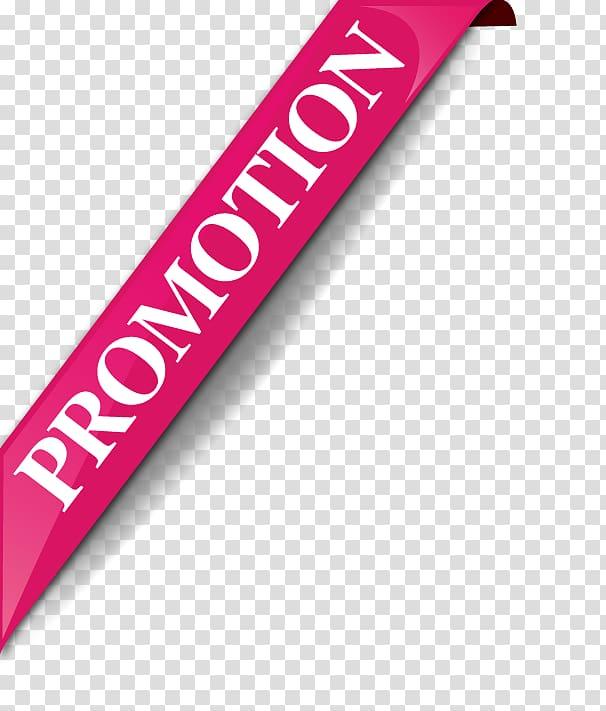 Brand Magenta Font, promotion transparent background PNG.