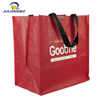 Promotional Laminated Colorful Pp Non Woven Bags With Logo Printing.