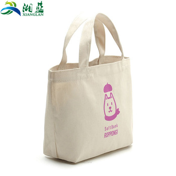 Custom Cotton Cloth Bags Promotional Logo Printing Shopping Bags.