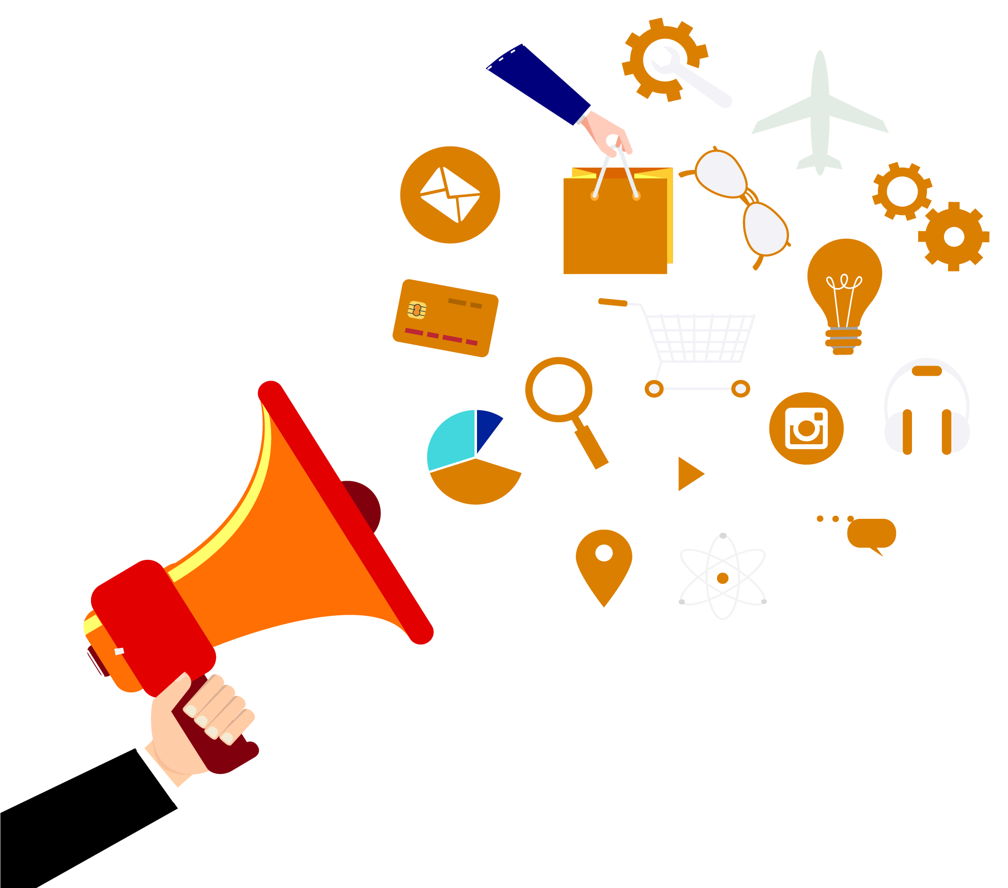 Marketing clipart promotional product, Marketing promotional.
