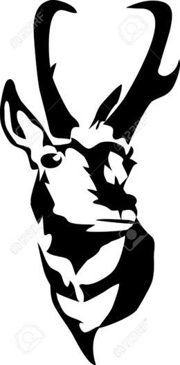 Download pronghorn antelope logo clipart Antelope Clip art.