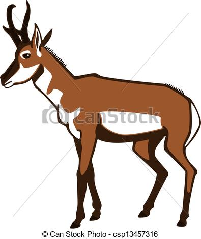 Pronghorn Clipart Vector and Illustration. 22 Pronghorn clip art.