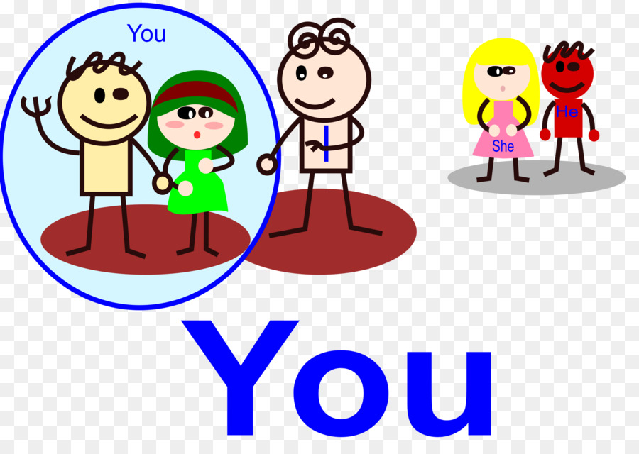 pronoun clipart Personal pronoun You clipart.