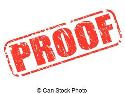 Proof Clipart.