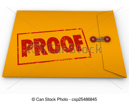 Proof Illustrations and Clip Art. 2,653 Proof royalty free.