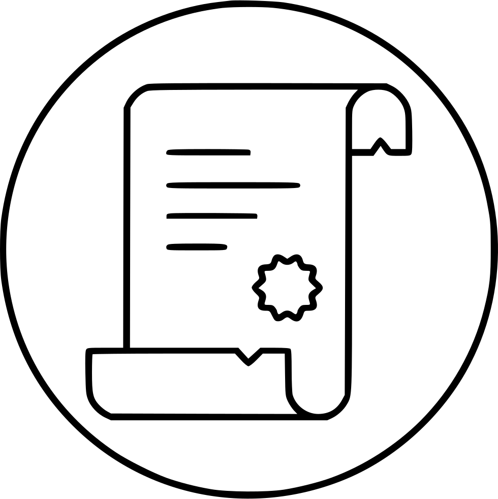 Scroll Script Diploma Proof Svg Png Icon Free Download.