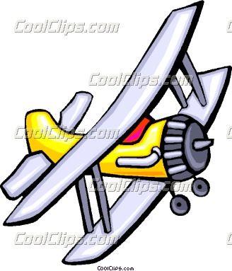 prop airplane clip art.