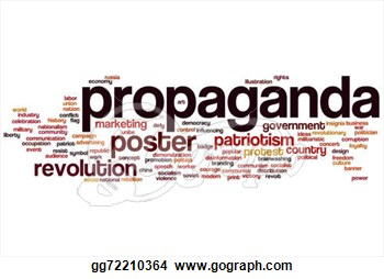 Propaganda word cloud.