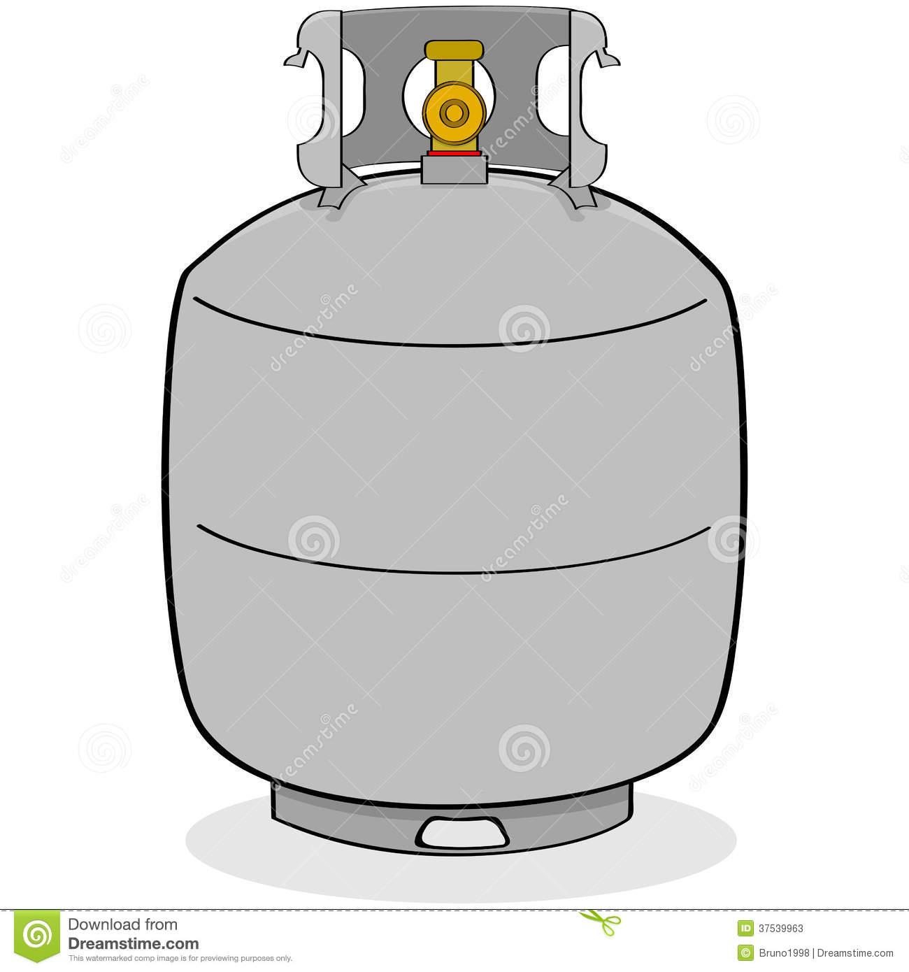 Propane Cylinder Clip Art.