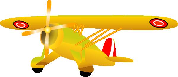 Danish Propel Plane Clip Art at Clker.com.