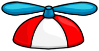 Red Propeller Hat.