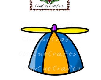 Propeller beanie.