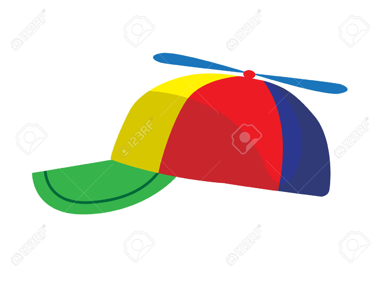 Propeller Cap Illustration Royalty Free Cliparts, Vectors, And.
