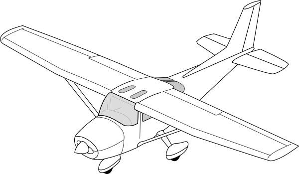 Plane Clip Art at Clker.com.