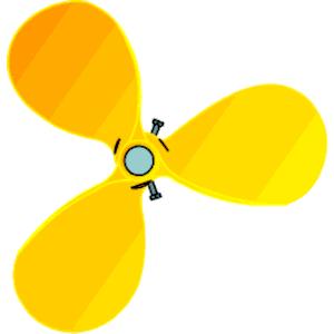 Propeller clip art.