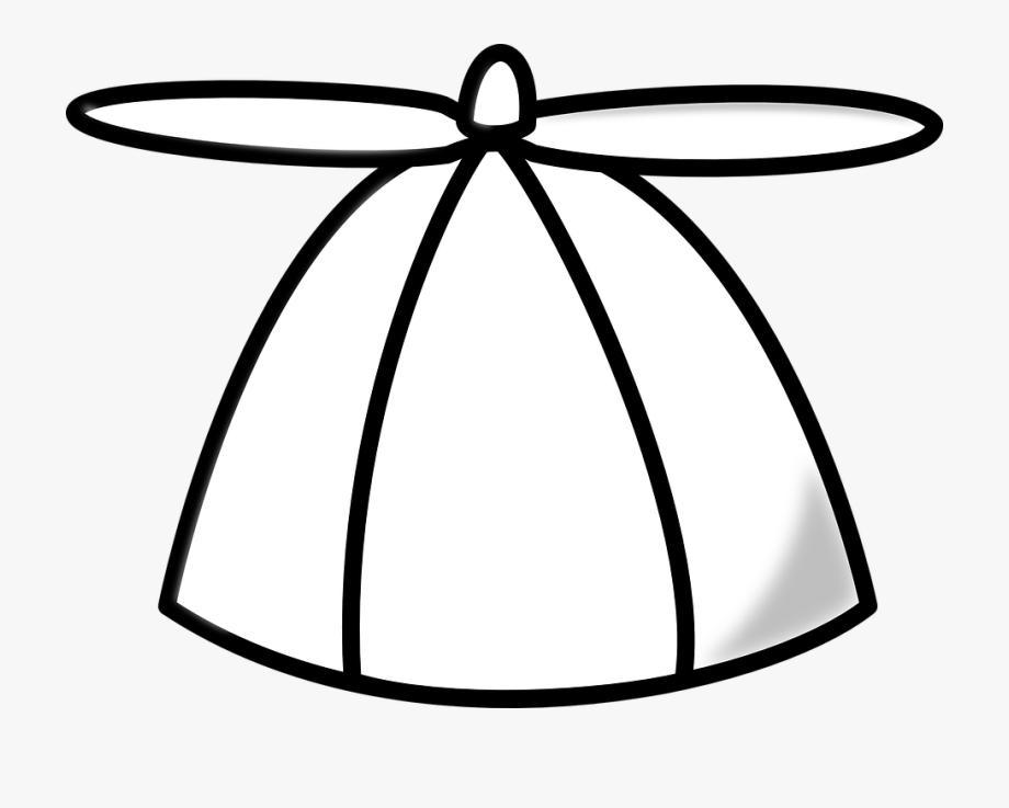 Cap, Propeller, Hat, Cool, Fan, White.