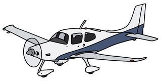 Propeller plane clipart.