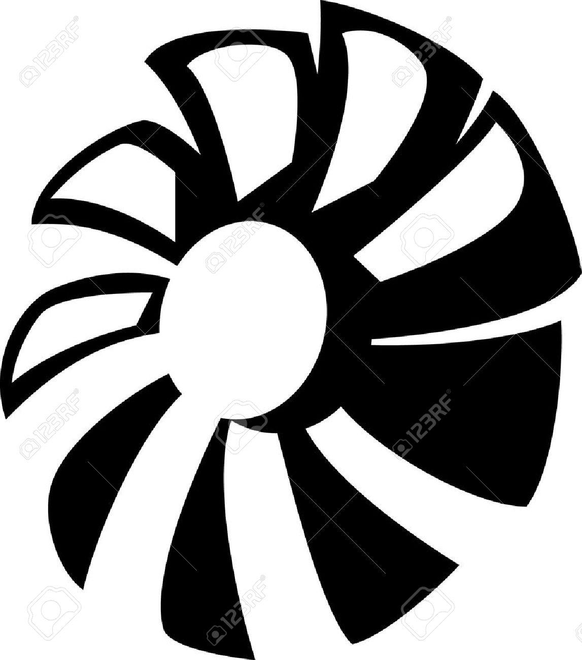 Fan Blade Clip Art : Propeller engine clipart clipground