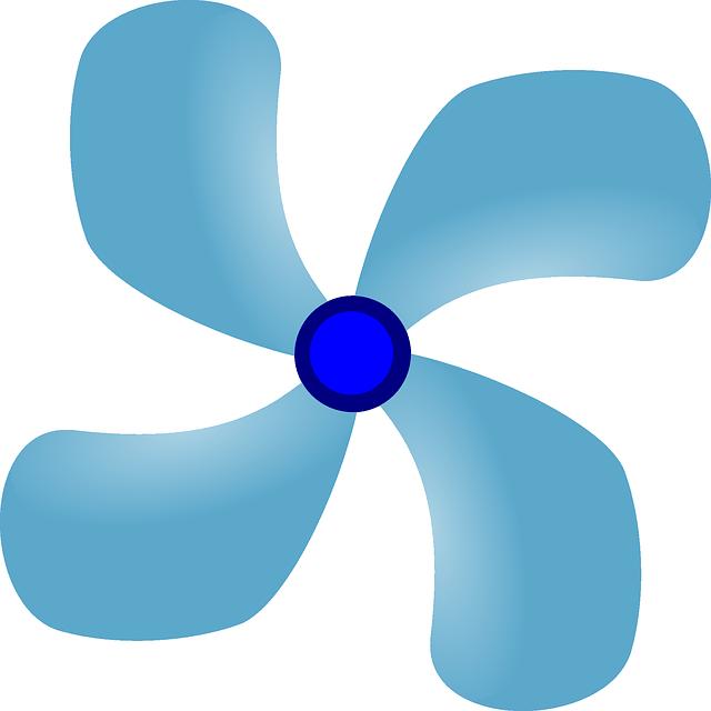 Free vector graphic: Propeller, Blades, Fan, Turbine.