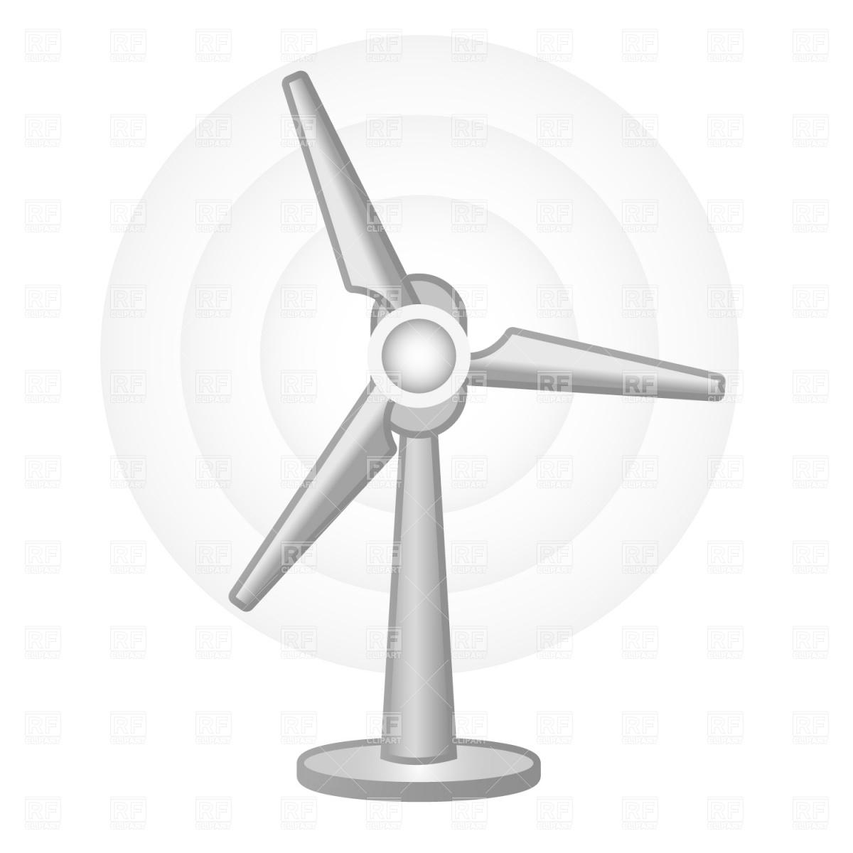 Wind turbine Vector Image #926.