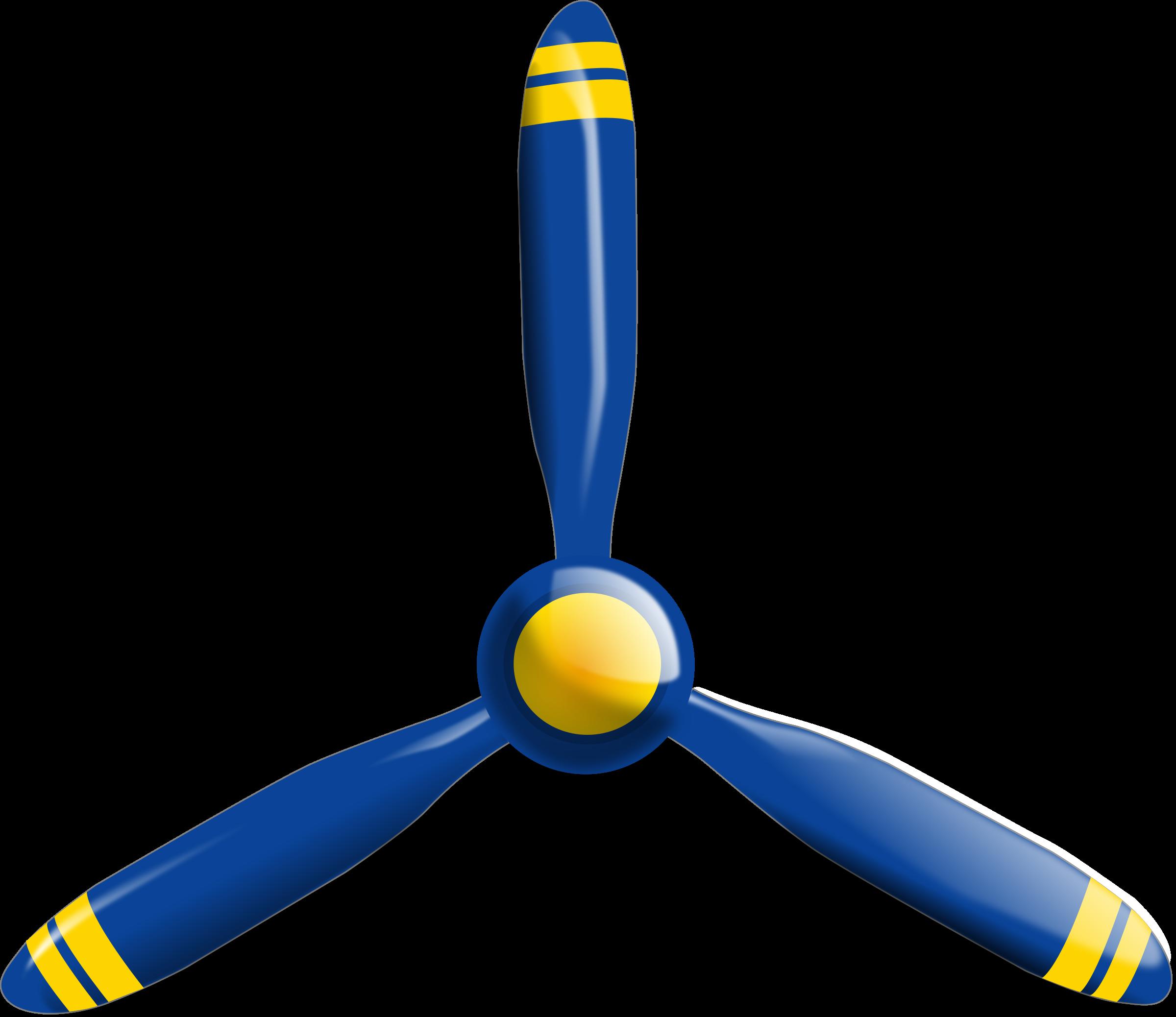Plane propeller clipart.