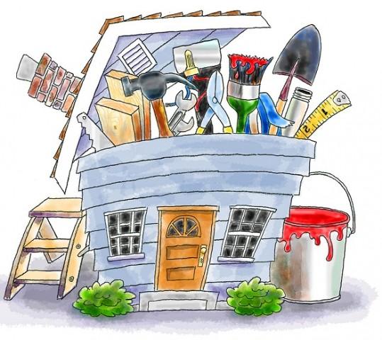 Property maintenance clipart.