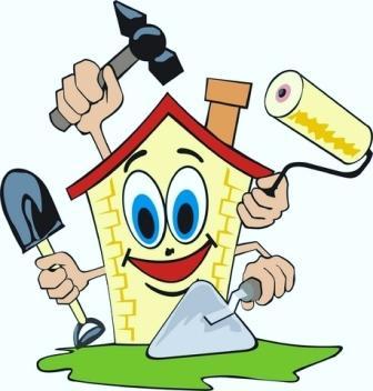 Fall Home Maintenance Clipart.