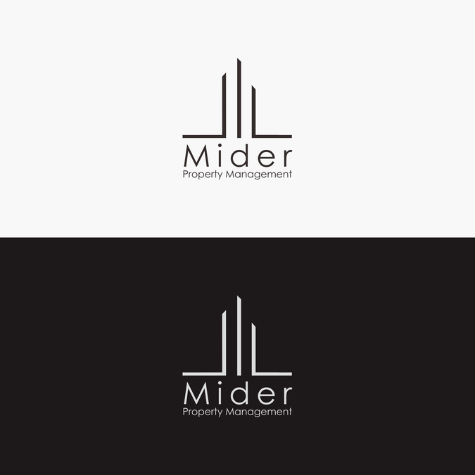 Design a modern expressive logo for property management firm.