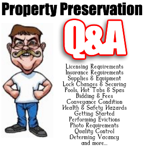 Property Preservation Questions & Answers.