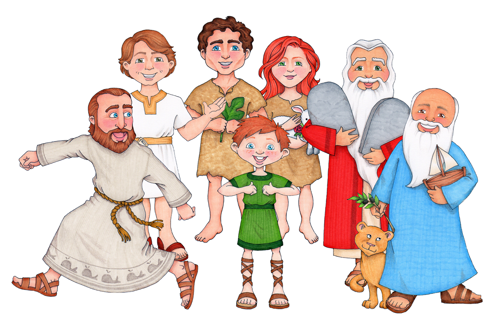 Clipart Of Prophets.