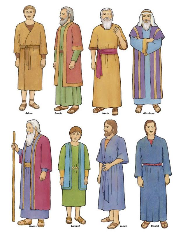 Cartoon Bible Prophet Clipart.
