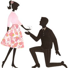 wedding proposal clip art.