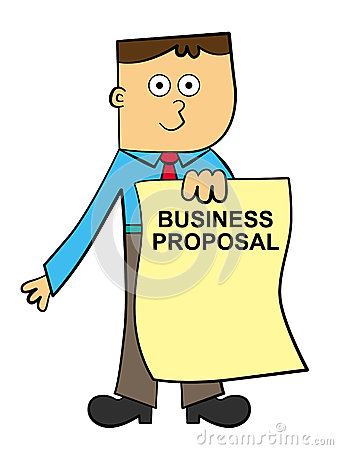 Business Proposal Clipart.