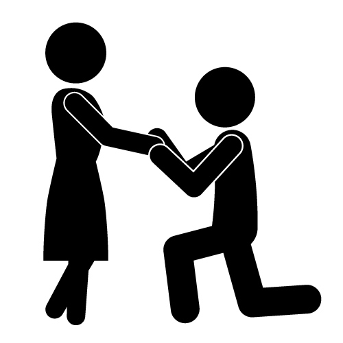 Marriage Proposal Pictures Clip Art (34+).
