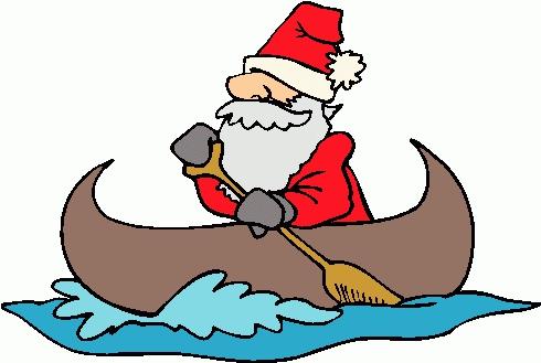 Funny Canoe Clipart#2138565.