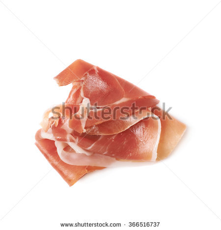 Prosciutto Isolated Stock Images, Royalty.