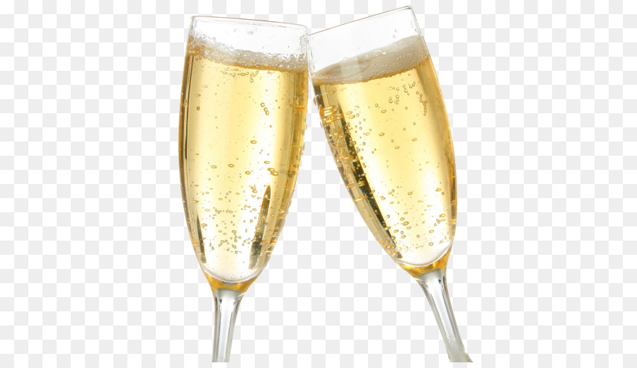Champagne Bottle png download.