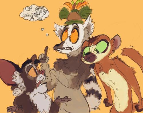 lemur king.