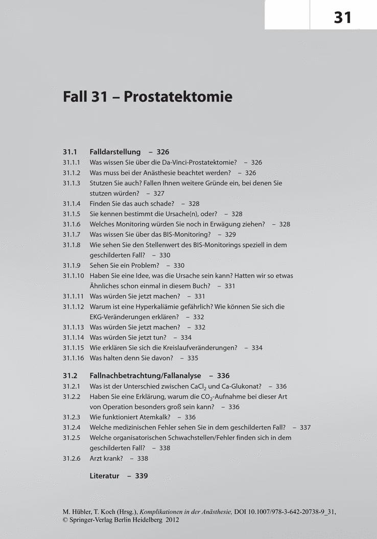 Prostatektomie.