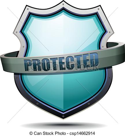 The protection of the clipart #19