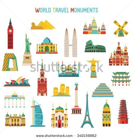 India Monuments Stock Images, Royalty.
