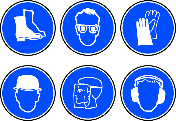 Protective clothing clipart.