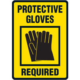 Gloves Required Clipart.