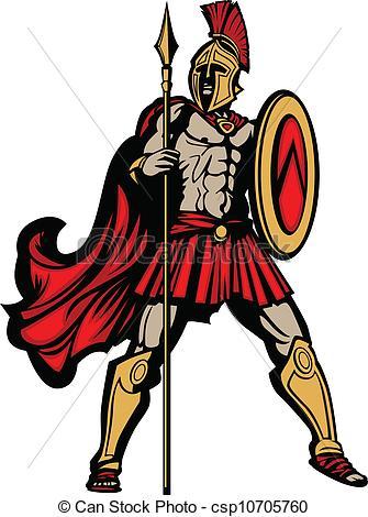 Greek Shield Clipart.